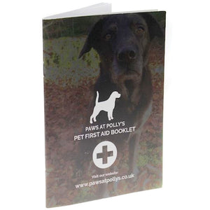 Pet First Aid Advice Booklet by Paws at Polly's