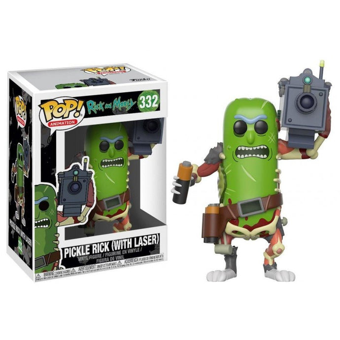 Figurine Rickornichon Laser (Pickle Rick) - Rick et Morty