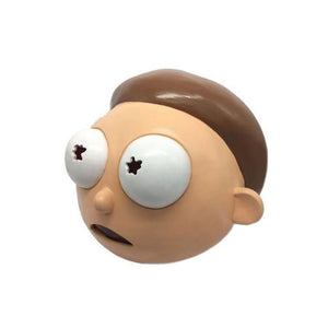 Masque déguisement Morty latex (Rick et Morty)