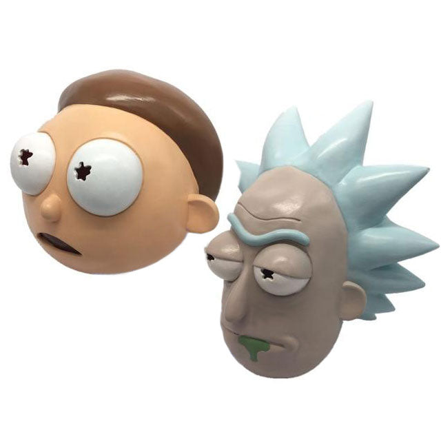 Masques déguisement Rick et Morty latex