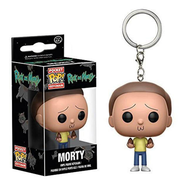 Porte-clé pop Morty terrifié (Rick et Morty)