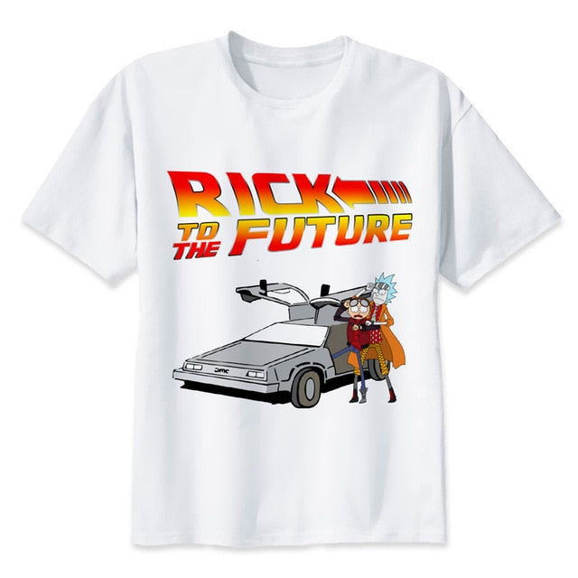 T-shirt Rick to the future (Rick et Morty)