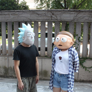 Masques déguisements Rick et Morty latex