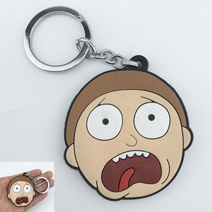 Porte-clé Morty terrifié (Rick et Morty)