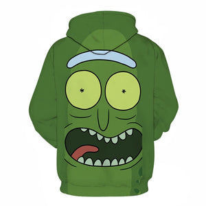 Sweat Rickornichon Pickle Rick dos (Rick et Morty)