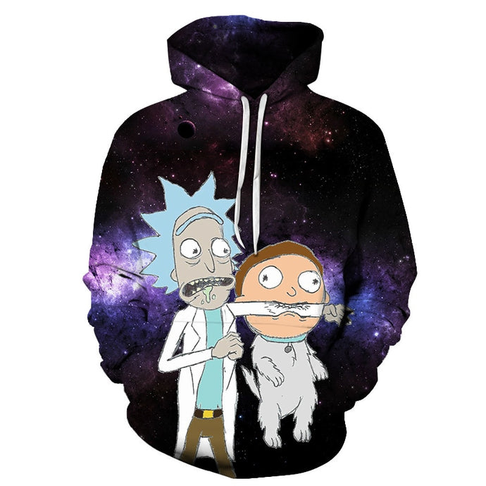 Sweat Rick mordu par Croquette-Morty (Rick et Morty)