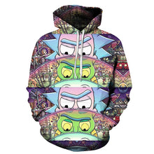 Charger l'image dans la galerie, Sweat Rick mini univers batterie (Rick et Morty)