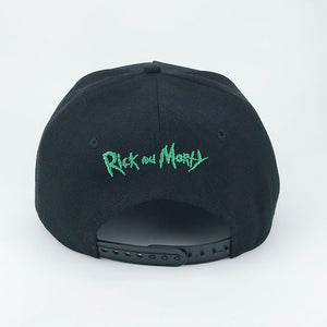 Arrière casquette logo Rick and Morty