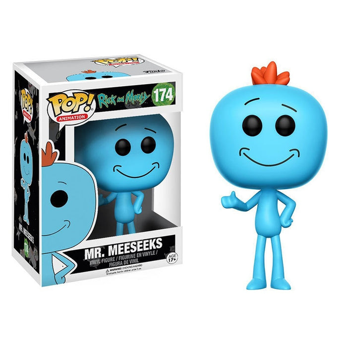 Figurine Monsieur Larbin (Mr Meeseeks) - Rick et Morty