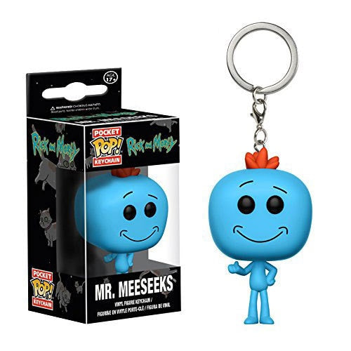 Porte-clé Monsieur Larbin (Mr Meeseeks) - Rick et Morty