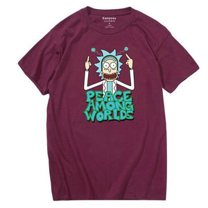 T-shirt Rick Peace Among Worlds bordeaux