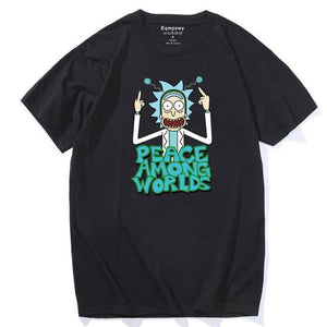 T-shirt Rick Peace Among Worlds noir