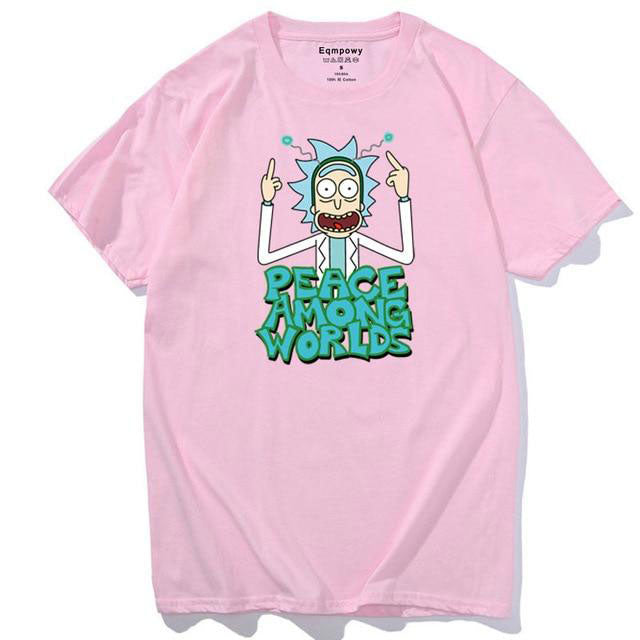 T-shirt Rick Peace Among Worlds rose
