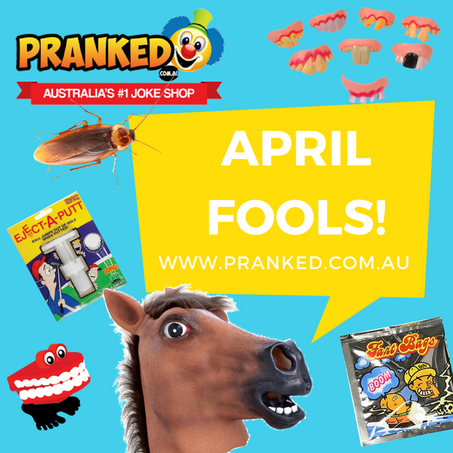 April Fools is just around the corner!