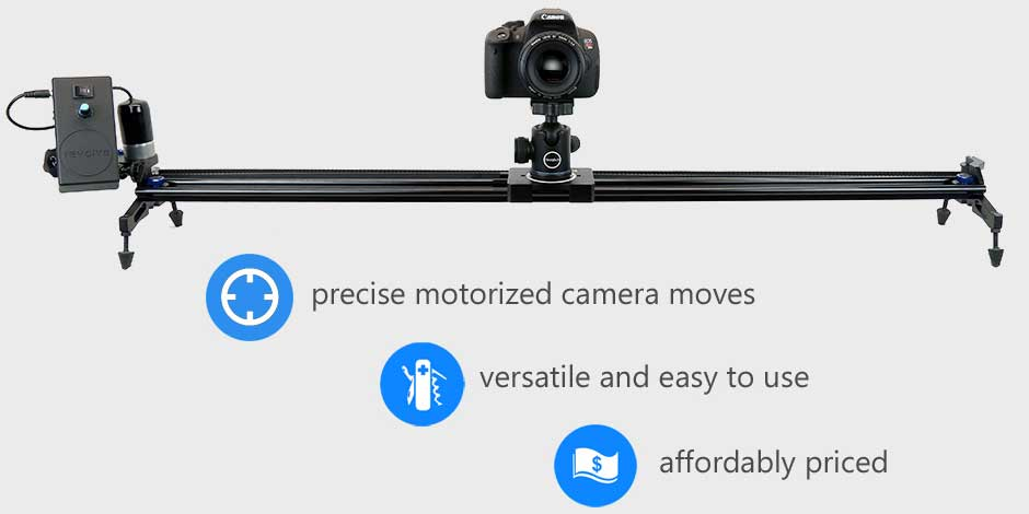 revolve motorized timelapse slider features
