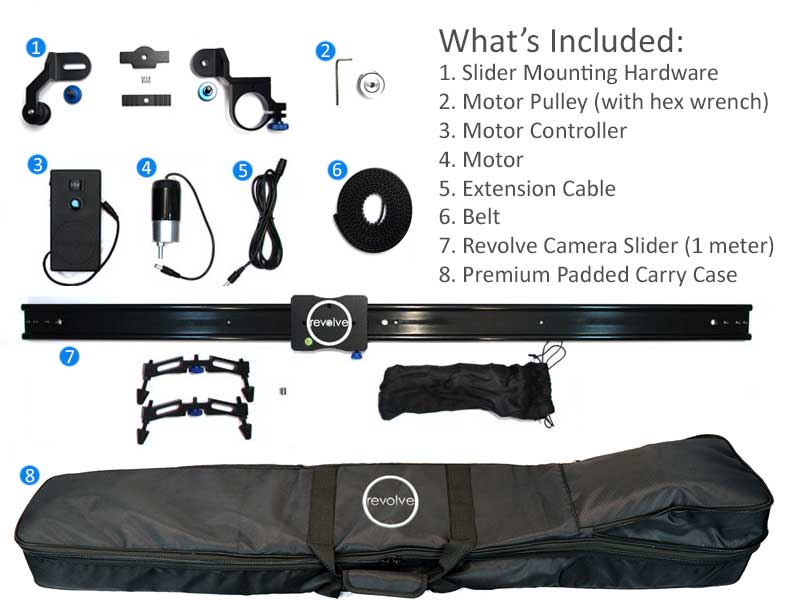 ram motorized slider bundle whats included