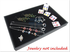 Black Jewelry Display Tray