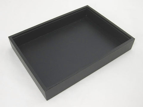Black Jewelry Display Utility Case for Earrings, Rings, Necklaces, Bracelets, Watches etc.