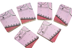 Wholesale Lot of 100 Princess Earrings Card, 6 holes for 3 pairs