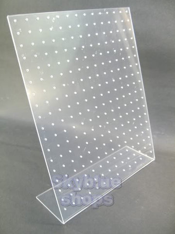 Clear Acrylic Display Stand for Jewelry Stud Earrings 252 Holes