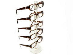 Clear Acrylic 5 Tier Eyeglass Sunglasses Glasses Display Stamd