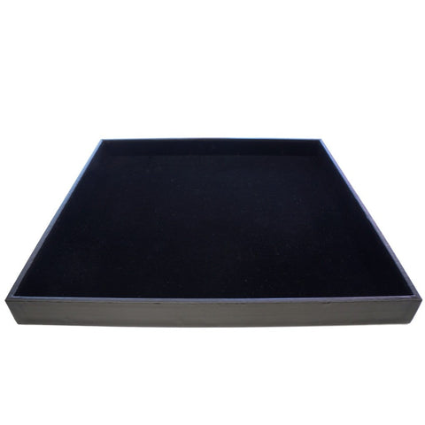 Large Black Display Case for Jewelry Presentation, 35x35x3cm