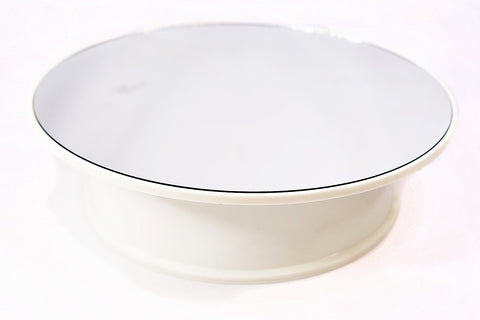 Revolving Display Mirror Turntable 20cm for Model Cars Dolls Jewelry Collectibles