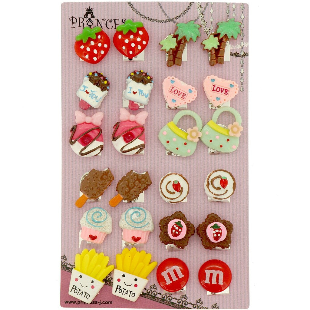 Big Size Generic Cute Lovely Cute Design Fashion Clip-on Earrings ...