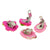 Princess-J Big Size Color Ice-cream Cupcake Popsicle Clip-On Earrings, Pack of 10 Pairs