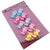 Color Candy with Flower Clip-On Earrings for Kids Children Teen Girls Birthday Party Gift, Pack of 5 Pairs