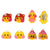 Cute Cartoon Yellow Duck Clip-On Earrings for Kids Children Teen Girls Birthday Party Gift, Pack of 4 pairs