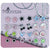 Color Crystal Magnetic Stud Earrings for Girls Kids Women, Pack of 12