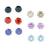 Pack of 6 Pairs 5mm Cubic Zirconia Crystal Magnetic Stud Earrings for Teen Girls
