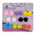 Mixed Color Resin Rose Flower Magnetic Stud Earrings for Teen Girls Kids Womens