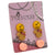 Color Cute Fashion Stud Earrings, Pack of 3 Pairs, Mix of design (A)