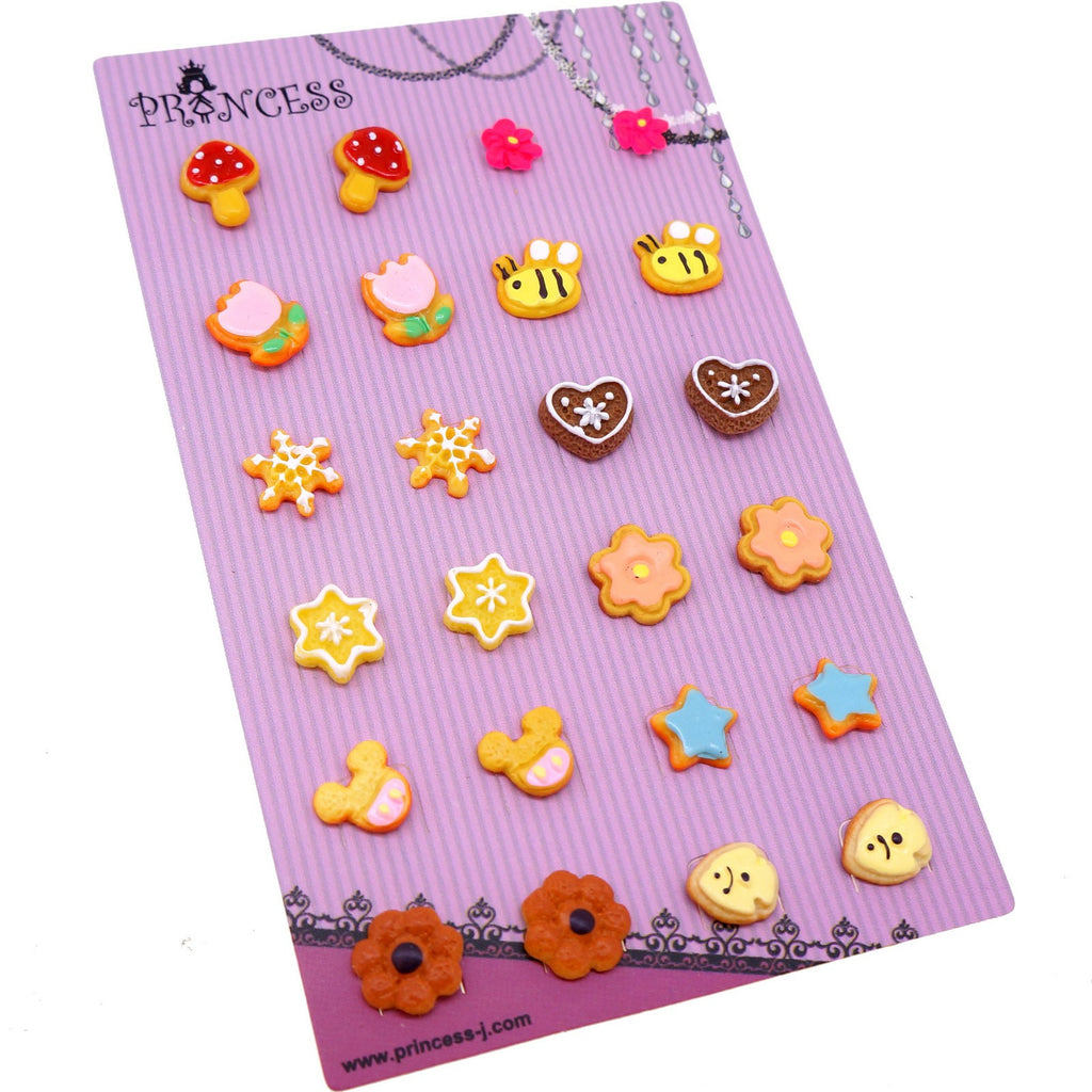 Wholesale Lot of 12 Pairs Cute Stud Studed Earrings for Kids ...