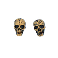 Skull Earrings Stud Heavy Metal, Pack of 12