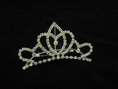 Crystal Wedding Bridal Jewelry Bouquets Hair Crowns Tiaras Accessories (Style F)