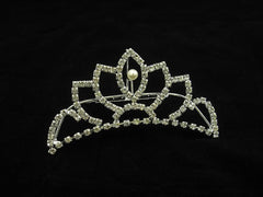 Crystal Wedding Bridal Jewelry Bouquets Hair Crowns Tiaras Accessories (Style B)