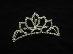 Crystal Wedding Bridal Jewelry Bouquets Hair Crowns Tiaras Accessories (Style C)