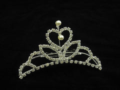 Crystal Wedding Bridal Jewelry Bouquets Hair Crowns Tiaras Accessories (Style D)