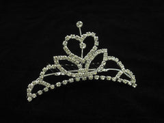 Crystal Wedding Bridal Jewelry Bouquets Hair Crowns Tiaras Accessories (Style E)