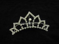 Crystal Wedding Bridal Jewelry Bouquets Hair Crowns Tiaras Accessories (Style H)