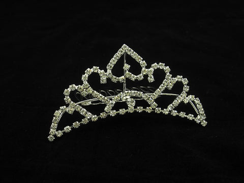 Crystal Wedding Bridal Jewelry Bouquets Hair Crowns Tiaras Accessories (Style G)