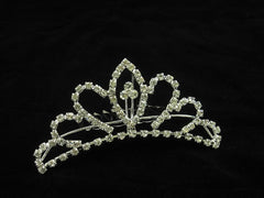 Crystal Wedding Bridal Jewelry Bouquets Hair Crowns Tiaras Accessories (Style J)