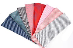 Color Stripe Stretchy Headband for Women or Girl Fashion Accessories, Pack of 8
