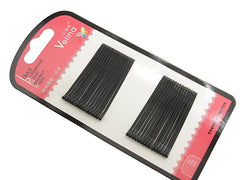 Pack of 30 Black Hair Clips Bobby Pins Kirby Grips Hair Styling Accessories