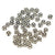 Tibetan Silver Beads, Lead Free & Cadmium Free, Flower, Great for Mother's Day Gifts making, Antique Silver, about 5mm long, 5mm wide, 3mm thick, hole: 1mm
