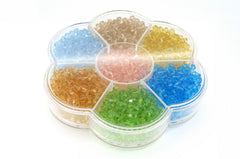 4mm Bicones Color Crystal bead for Designer Bracelet Necklace Jewelry Making Set