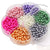 Jewelry Making Color Glass Pearl Pearlescent Beads Box Set , 4mm Round, 1050 Pcs
